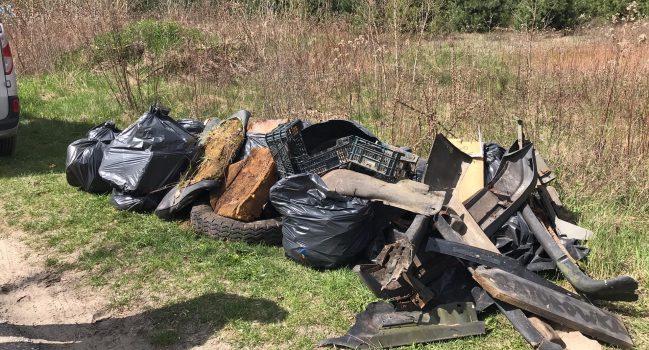 Wspólne sprzątanie gminy Leoncin – Stop śmieceniu