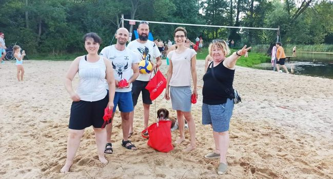 I Turniej Siatkówki Plażowej i my